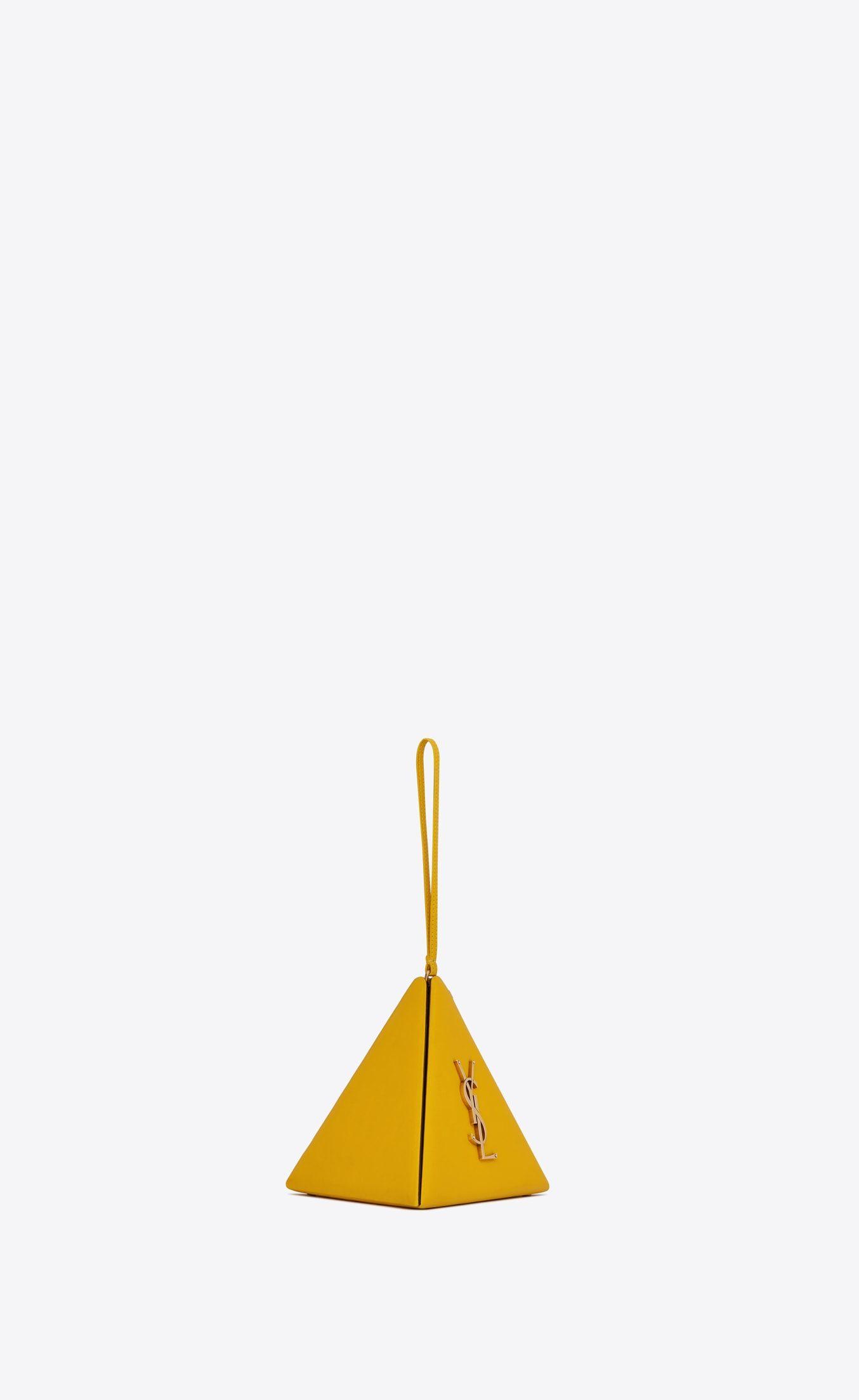 5c5a78fb84 Pyramid box in lambskin in 2019 | Accessory | Ysl bag, Smooth ...
