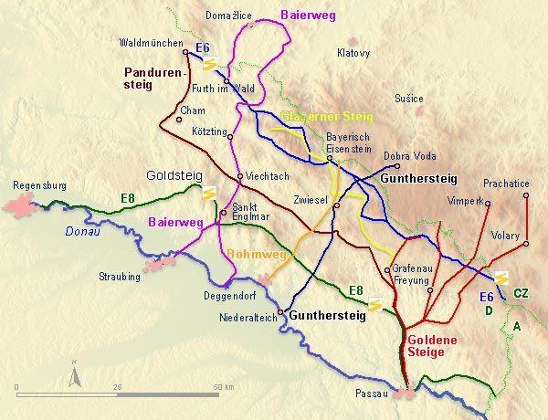 Fernwanderwege - Der Naturpark Bayerischer Wald
