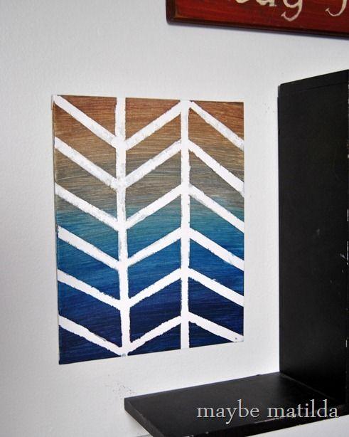 Diy Canvas Art Projects Maybe Matilda Canvas Art Projects Painters Tape Art Graphic Canvas Art
