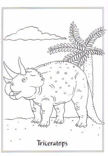 Ausmalbild Dinosaurier 2 Triceratops Malvorlage Dinosaurier Dinosaurier Dinosaurier Bilder