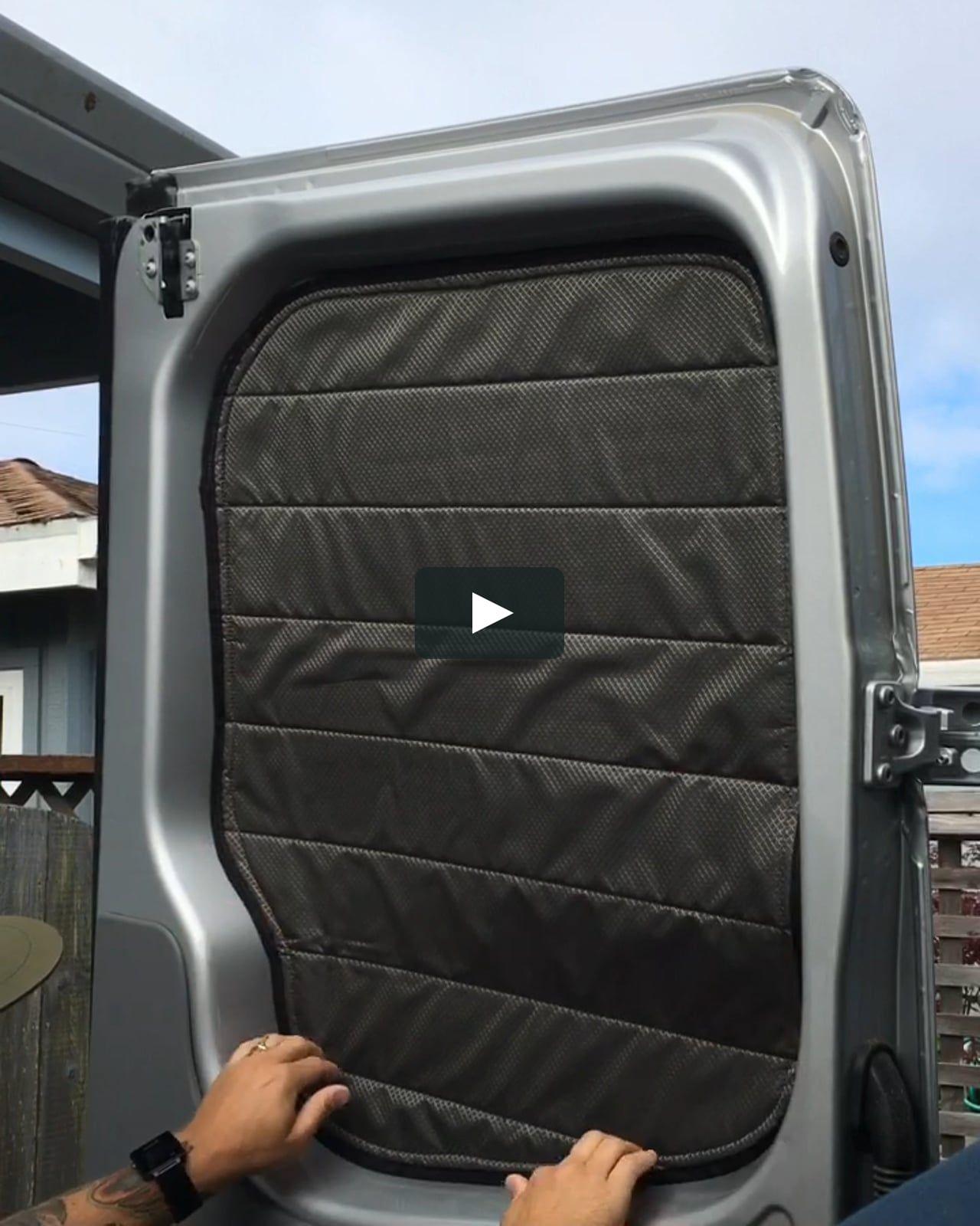 Sprinter van insulated window covers in 2020 Sprinter