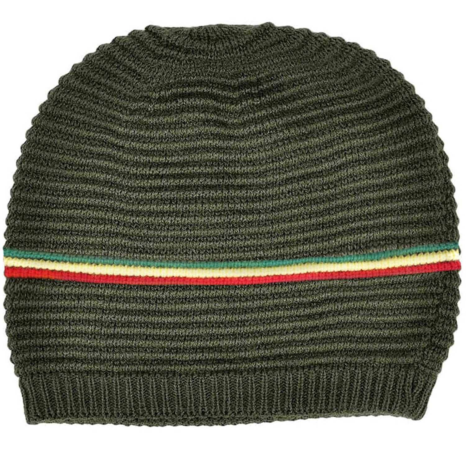 8281861ae02 Men   Women s Retro Oversized Slouchy Winter Knit Beanie Hat - Color ...