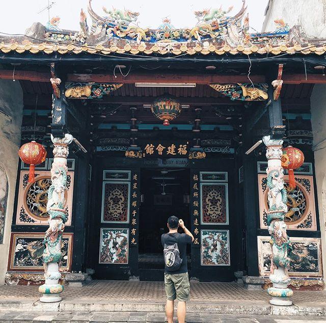 Temple Texas Traditional Home: The Small Hokkien Huay Kuan Temple On Jonker Walk