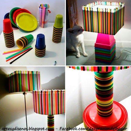 COMO HACER LAMPARAS PARA LOS AMBIENTES : Diseño y Decoración del Hogar Design and Decoration