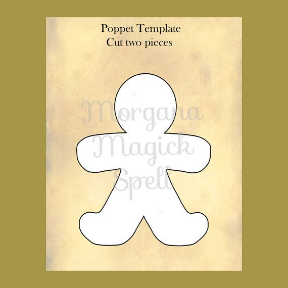 HEALING POPPET SPELL With Pattern