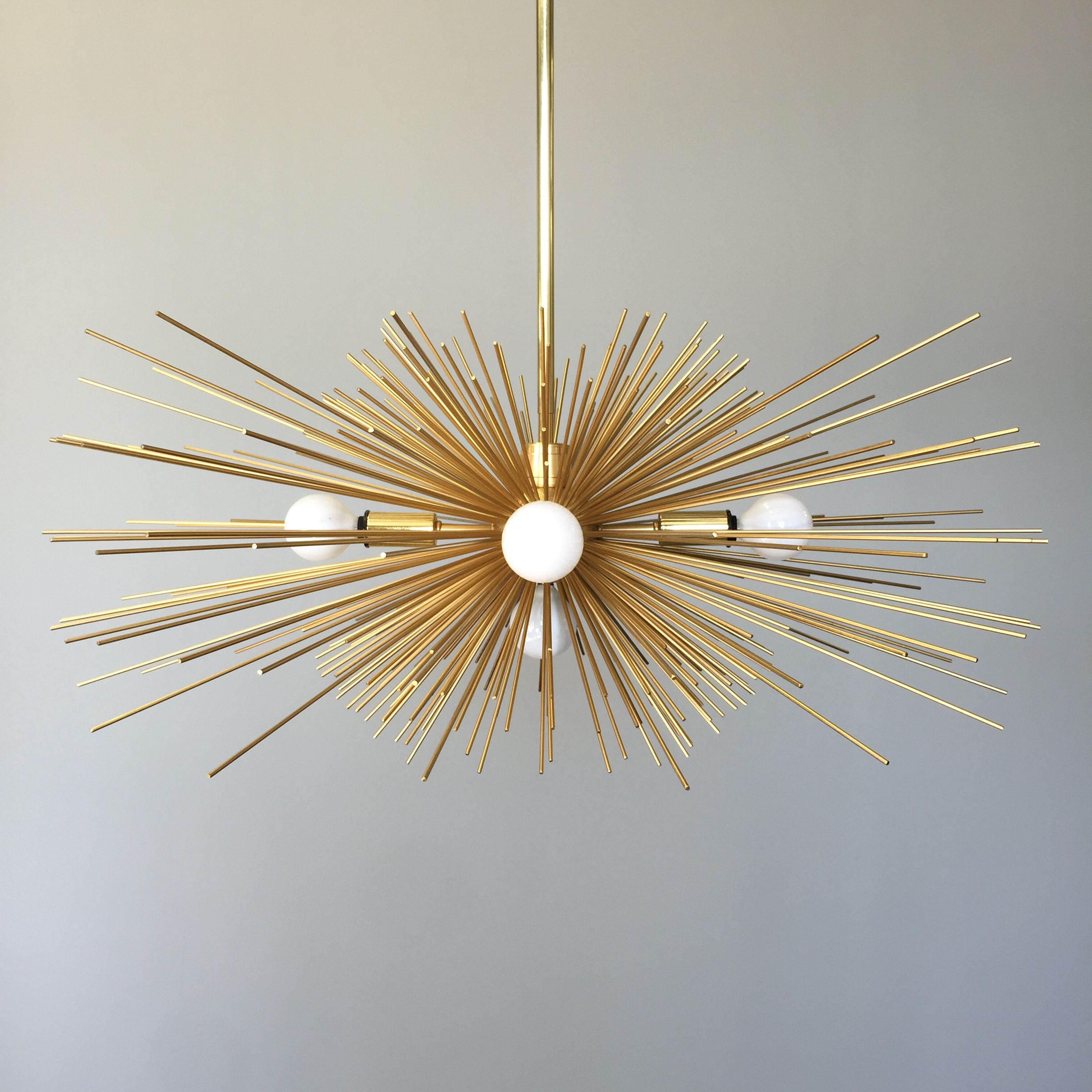 Gold urchin chandelier affordable 499 from dutton brown gold gold urchin chandelier affordable 499 from dutton brown gold or black or blue arubaitofo Images