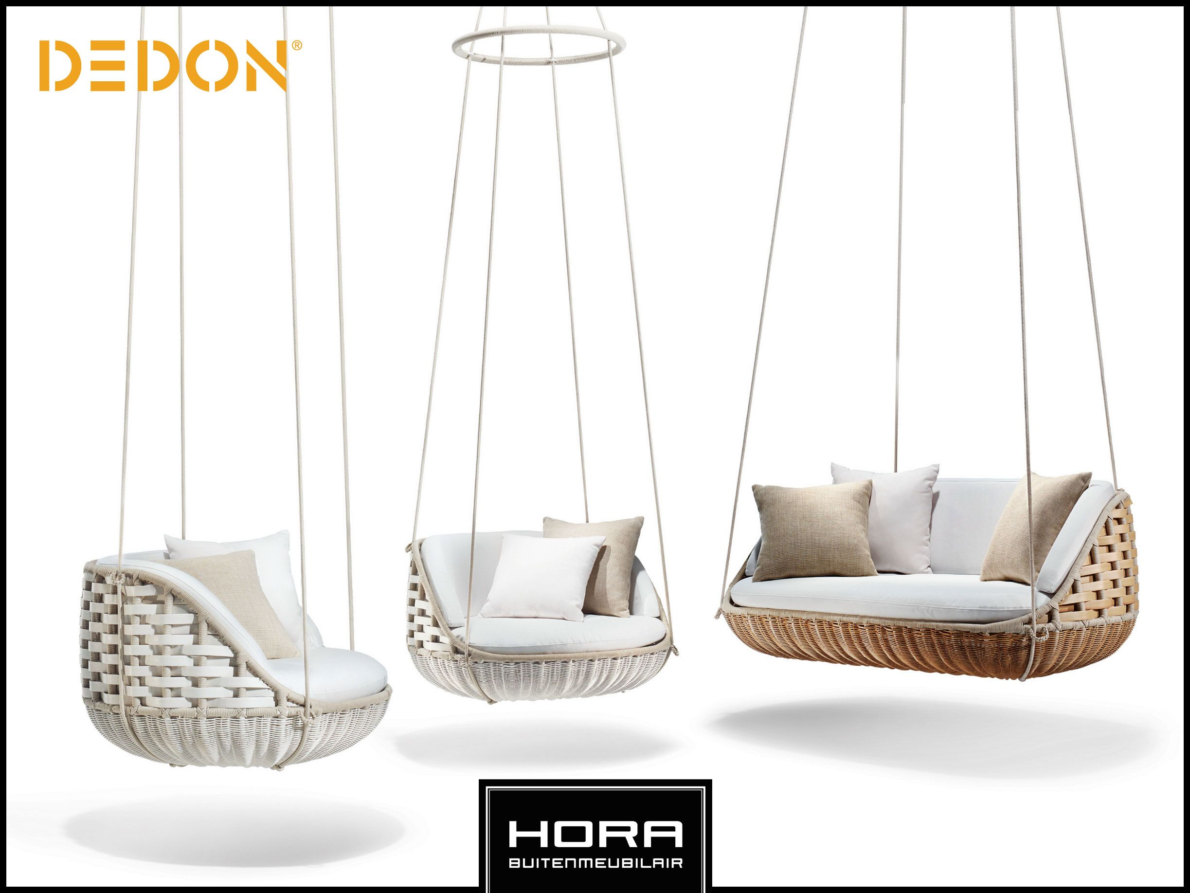 Preview new DEDON collection 2015 De eerste 100% hangende