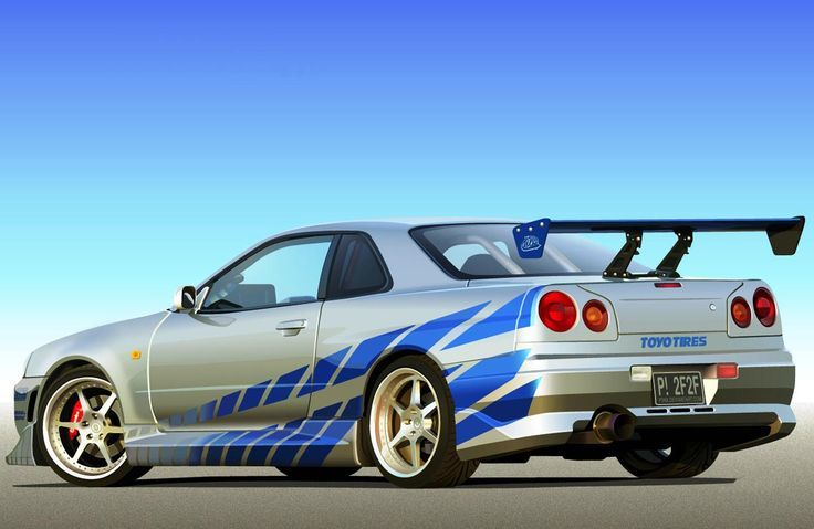 Fast And Furious Cars 1999 Nissan Skyline GT R Posted One Before Still Cool  Doe