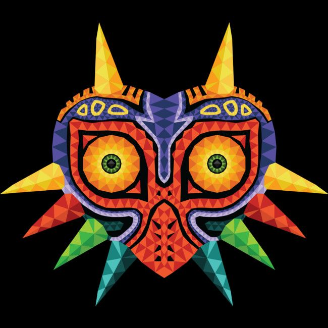 Majora's Mask is a T Shirt designed by BlueMyMind to illustrate your life and is available at Design By Humans