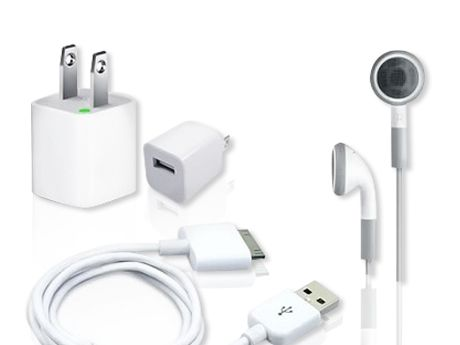 Kit Cargador 5 en 1 para iPhone, iPod y iPad (no apto para foreveralones)