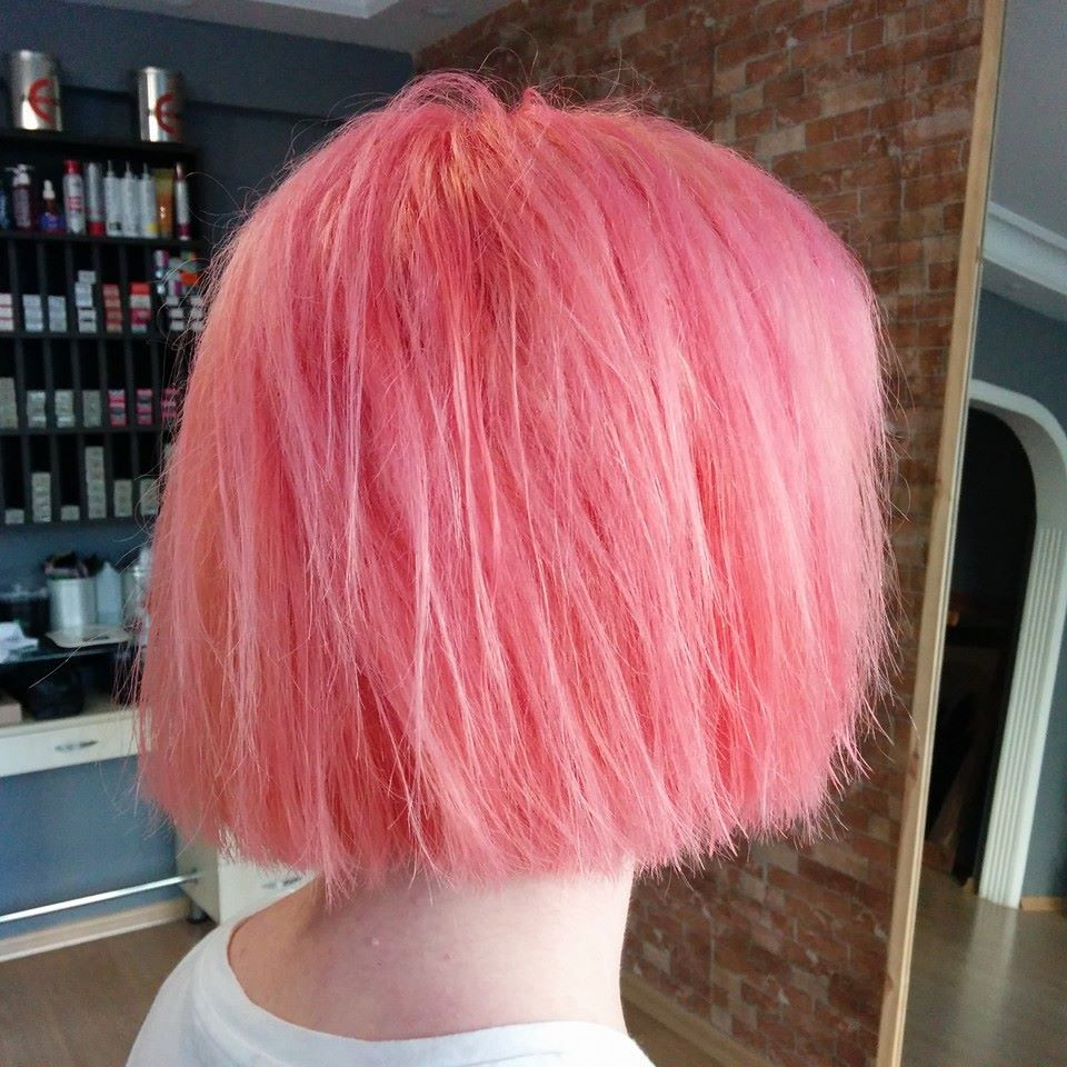 Pink shaved candy