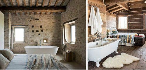 Bañeras integradas en el dormitorio principal ...