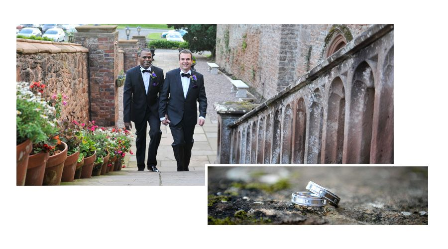 Civil Partnership Photography at Rowton Castle, Shrewsbury | Wedding Photographers in Cheshire and Manchester