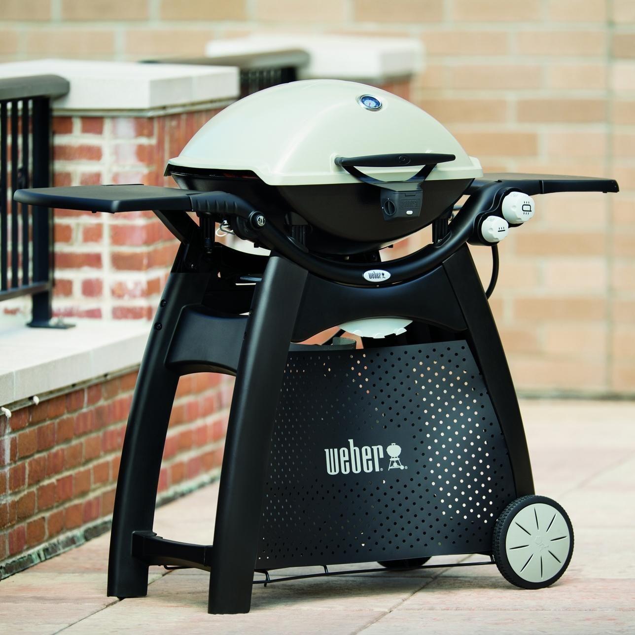 Weber Q 3200 Propane Gas Grill Titanium 57060001 Bbqguys Propane Gas Grill Bbq Guys Gas Grill