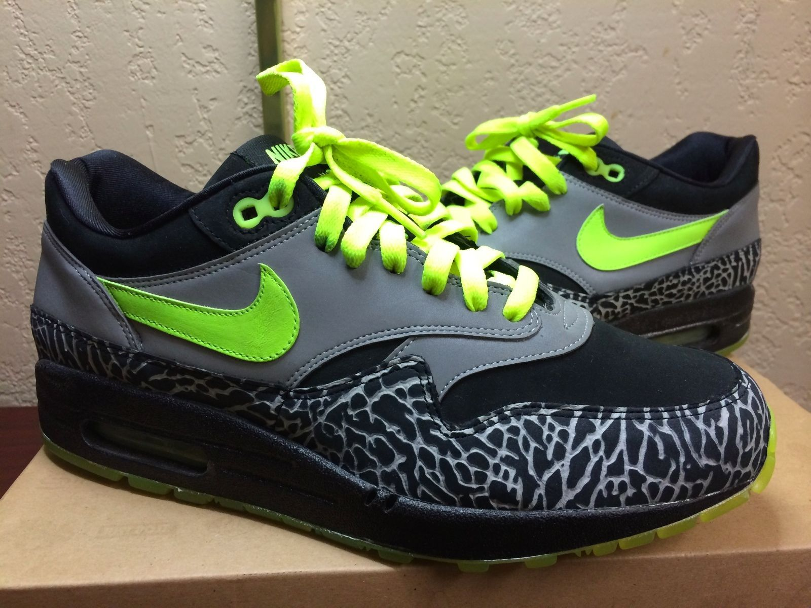 21a8ee5fcd ... norway nike air max 1 112 size 8 5 atmos beast safari tiger animal  patta amsterdam