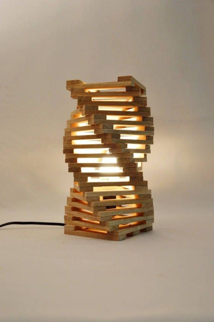 Cool And Unique Bedside Table Lamps Ideas 38 Wood Desk Lamp Modern Desk Lamp Desk Lamp Design