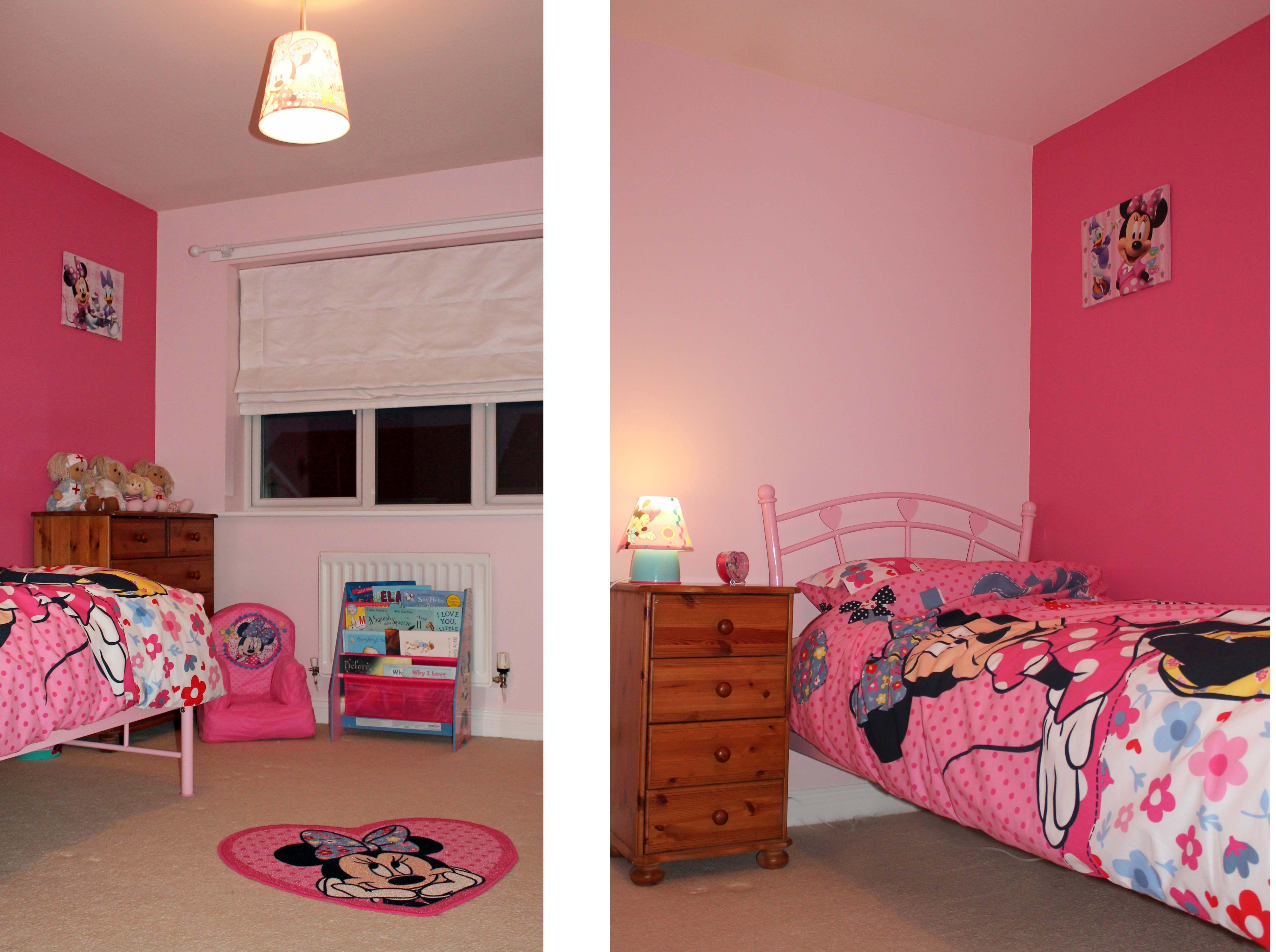 Minnie Maus Möbel Minnie Maus Nachttischlampe Minnie Mouse
