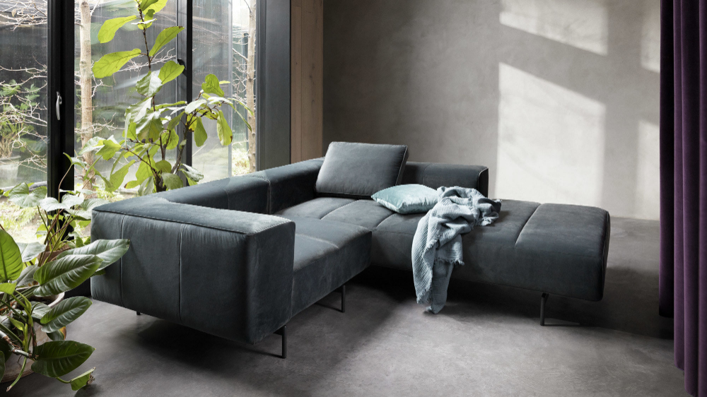 Amsterdam Corner Sofa With Lounging Unit With Images Sofa