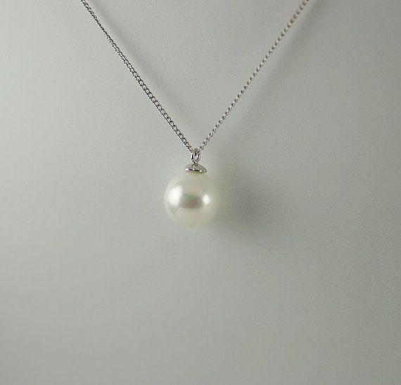 Drop Pearl Pendant 8 5mm Tahitian Pearl Drop Pendant Black Tear