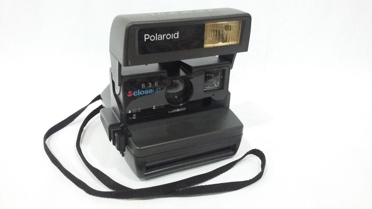e807c0d823411 (1) Câmera Polaroid Close-up 636 Perfeita Antiga - R  115