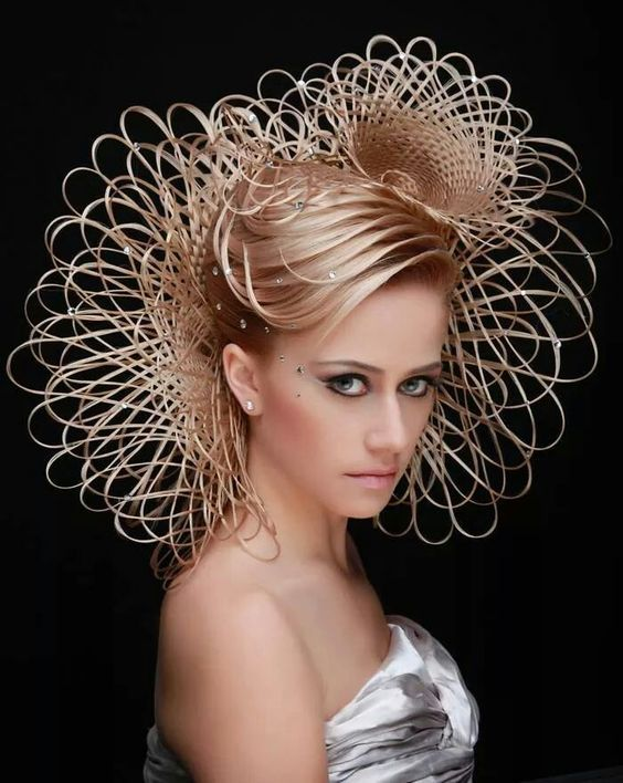 Coiffure Georgiy Kot Artistic Hair Hair Styles Couture Hairstyles
