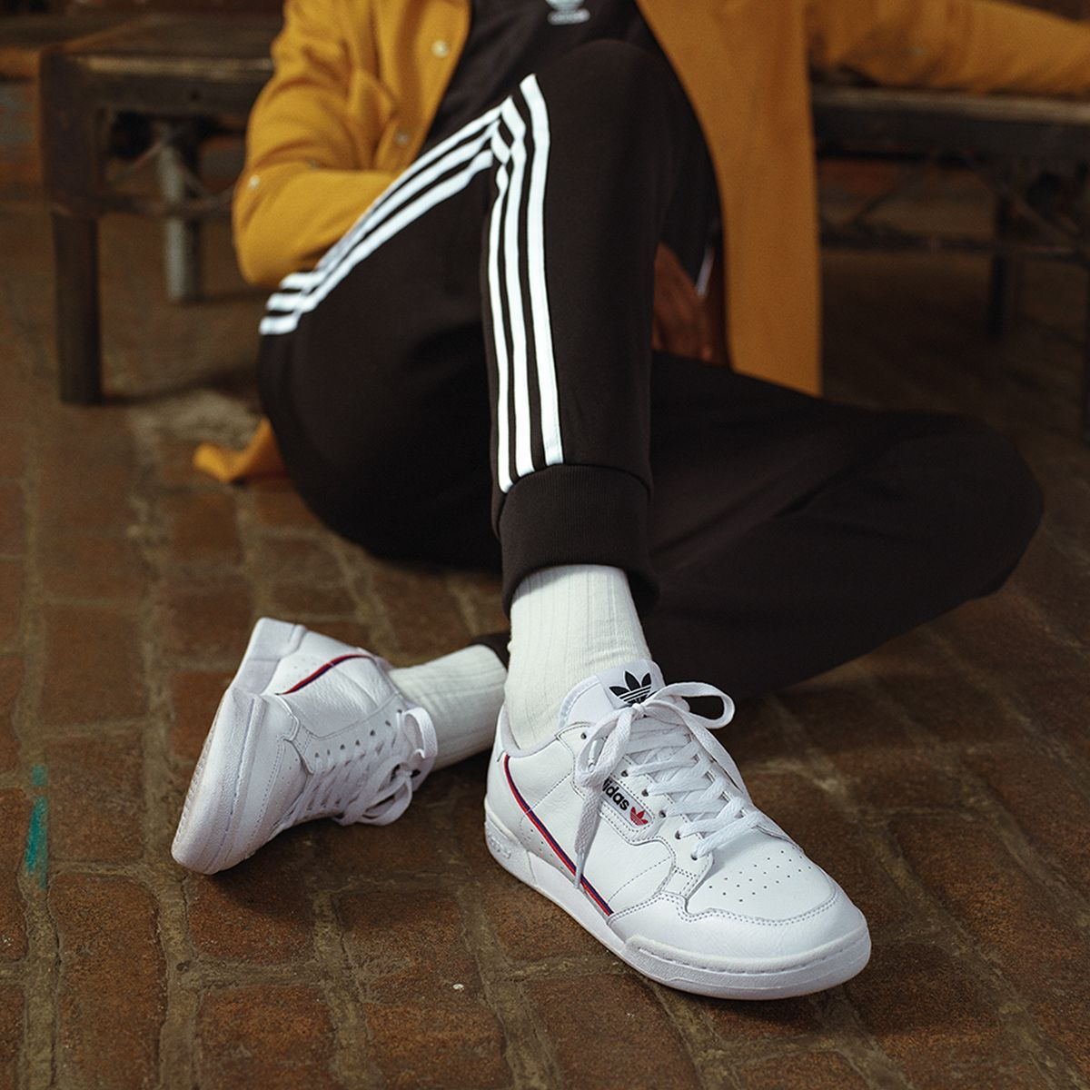 adidas continental 80 outfits