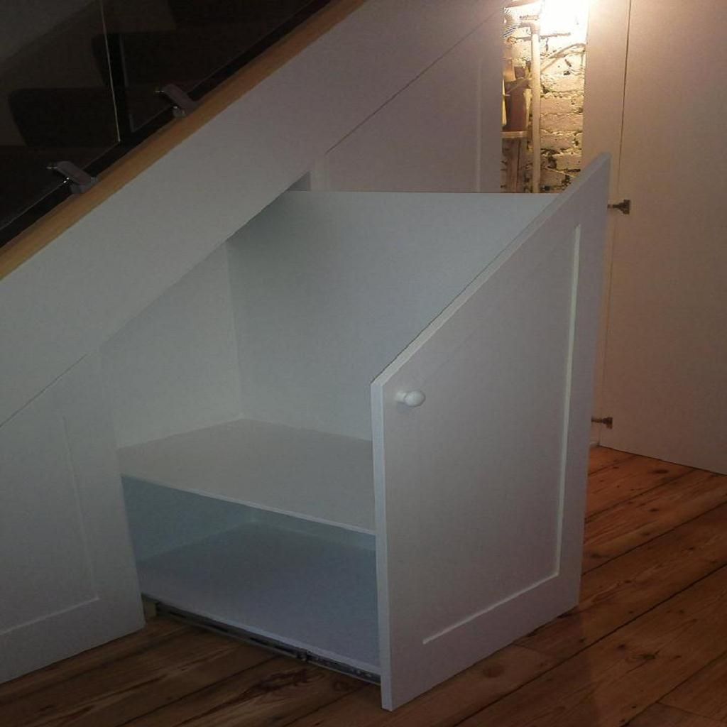 Bespoke Under Stairs Shelving: Bespoke Furniture, Bookcases & Alcove Units (With Images