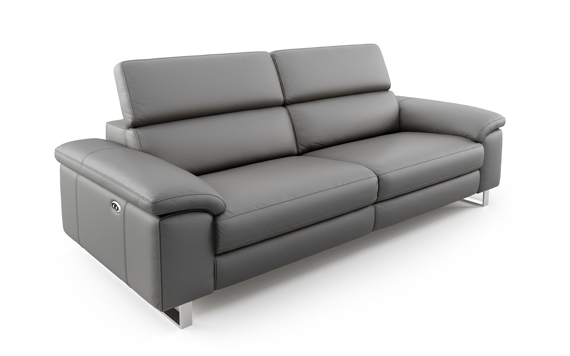 Savona 3 Sitzer Ledersofa With Images Sofa Couch Furniture