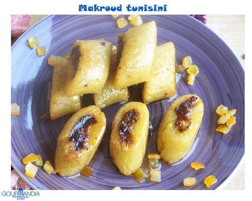 Dolci Tunisini Makroud.Pasticceria Delle Feste Makroud Tunisini Gourmandia