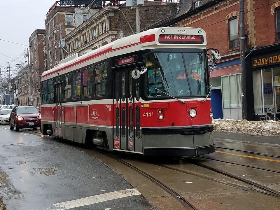 TTC Toronto CLRV (With images) Metro subway, Street cars