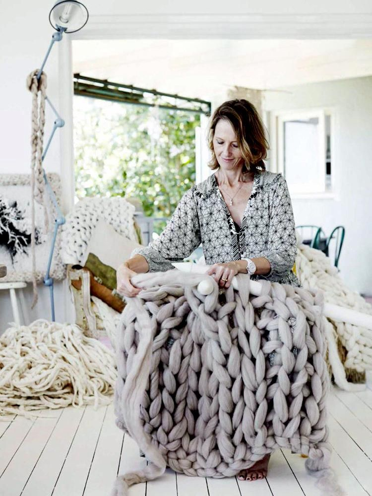little dandelion art tricot xxl tricotkegm. Black Bedroom Furniture Sets. Home Design Ideas