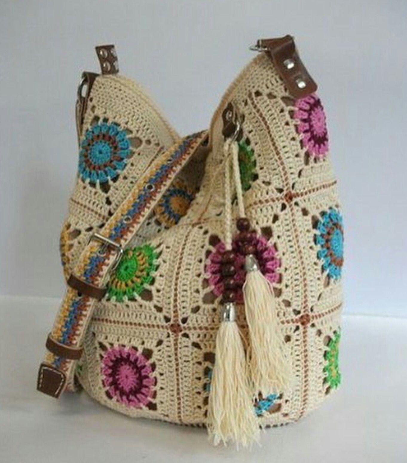 cad76c74c590f Örgü, çanta, motif | tığ işi | El çantaları, Dikiş, Örme çantalar