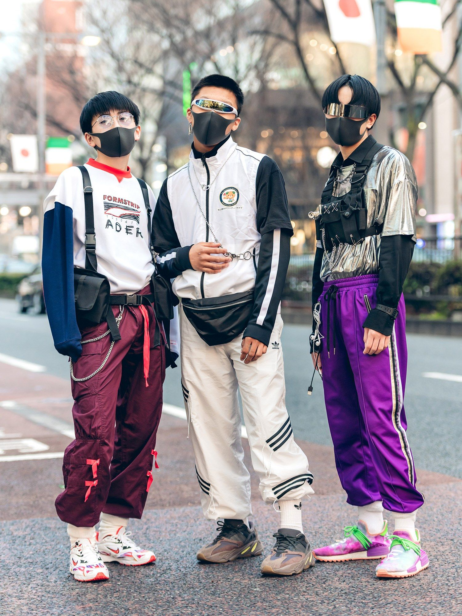 Punks and Skaters Ruled the Street Style at Tokyo Fashion Week