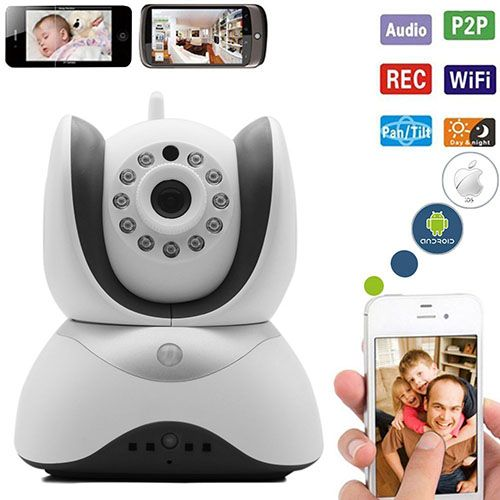 7 Palermo Wifi Wireless Video Baby Monitor With Pan Tilt Zoom Security Surveillance System And Hd Night Vis Wifi Baby Monitor Video Monitor Baby Baby Monitor