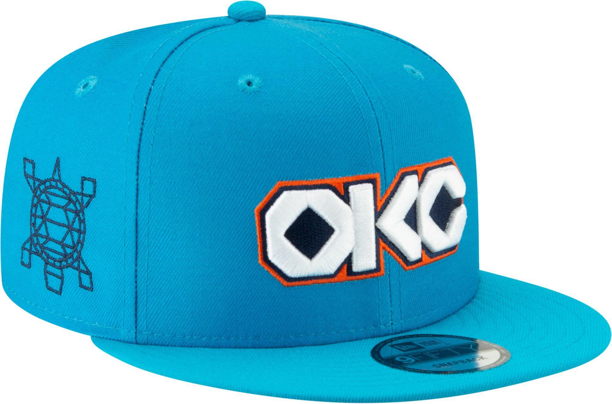 super cute b0f48 081aa New Era Men s Oklahoma City Thunder 9Fifty City Edition Adjustable Snapback  Hat, Black