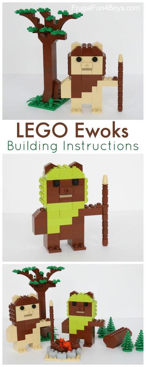 Lego Ewoks Building Instructions Pinterest Lego Star Wars Lego
