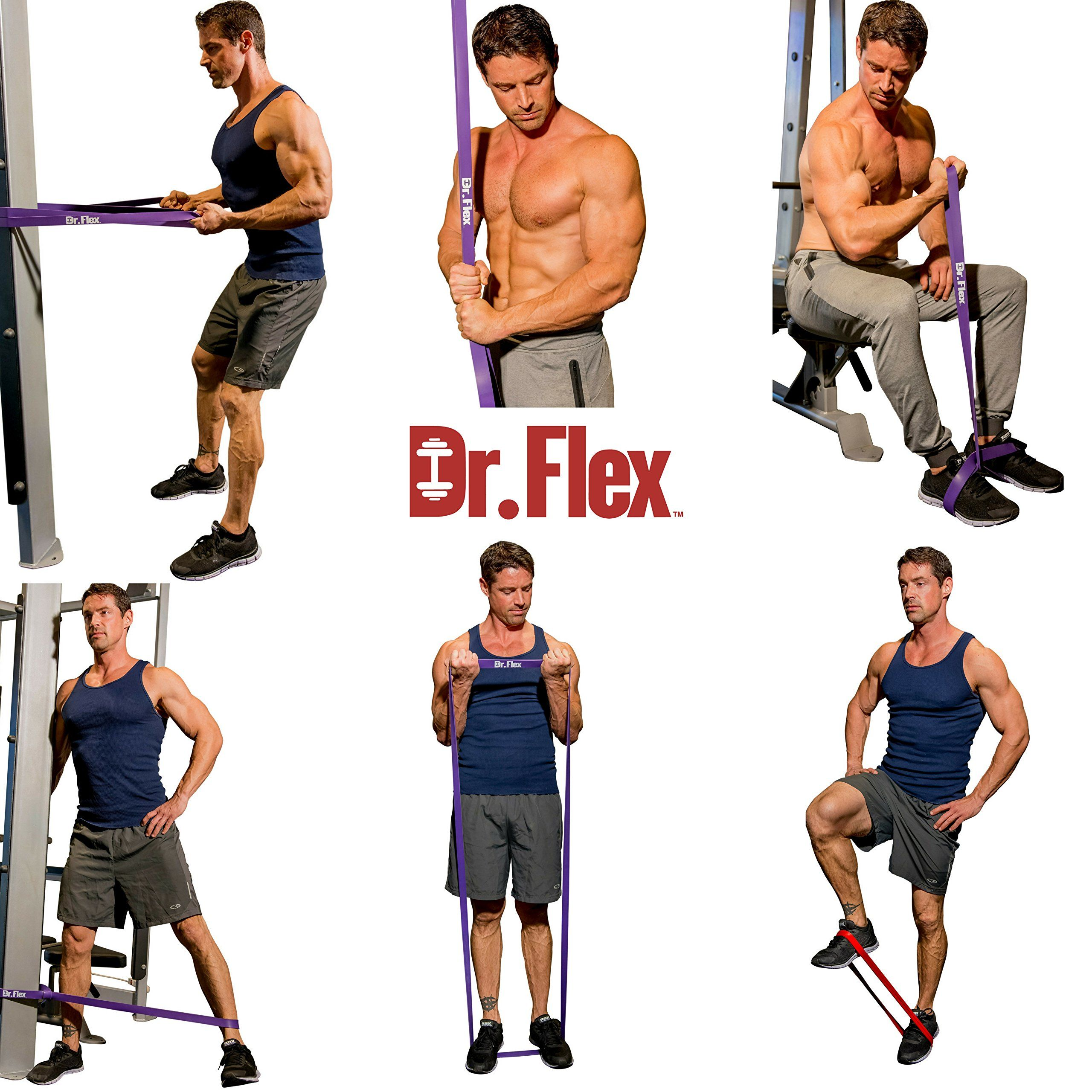 Fitness Heavy Duty Resistance Bands Assisted Pull Up Band Power Lifting Exercise