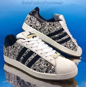 best service af174 117f2 Mens adidas Originals Superstar 2 Trainers White Black sz 10.5 Sign Off EU45  1 3