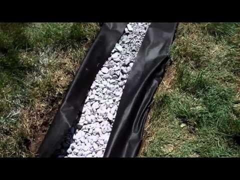 How to install a french drain in your back yard do it yourself how to install a french drain in your back yard do it yourself project solutioingenieria Images