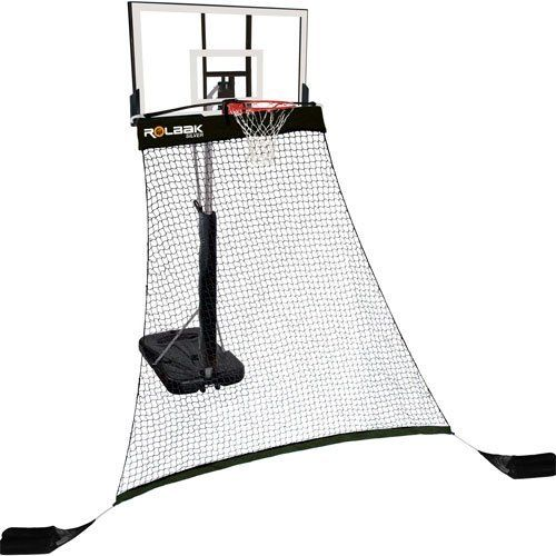 Rolbak Net Silver By Rolbak 49 49 Protect Your Yard And Maximize Your Training Time With The Original Basketball Ret Shooting Practice Rebounding Basketball