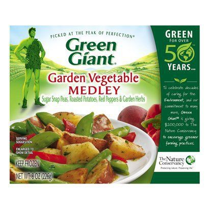 Beau Green Giant Steamers Garden Vegetable Medley 8oz. Box