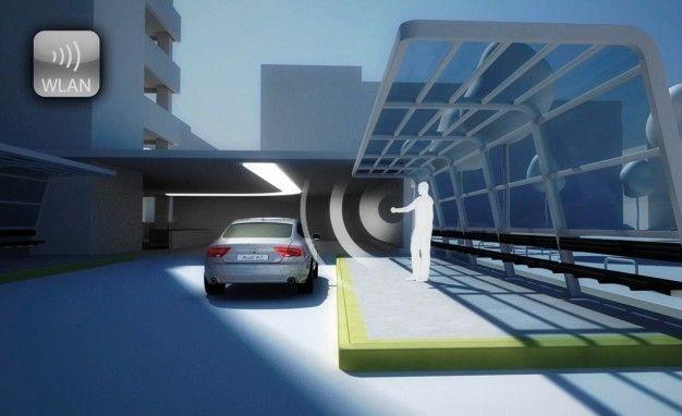 Audi Piloted Driving Selfparking Function Automotive Tech - Audi self parking
