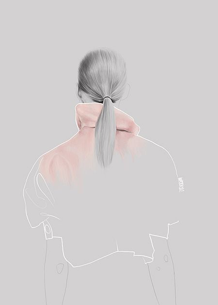 Fashion illustration-JW Anderson