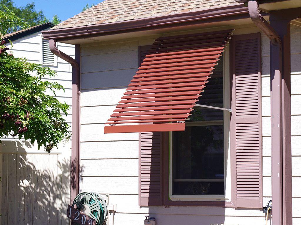 Panorama Window Awning Custom Colors Window Awnings Aluminum Window Awnings Window Design