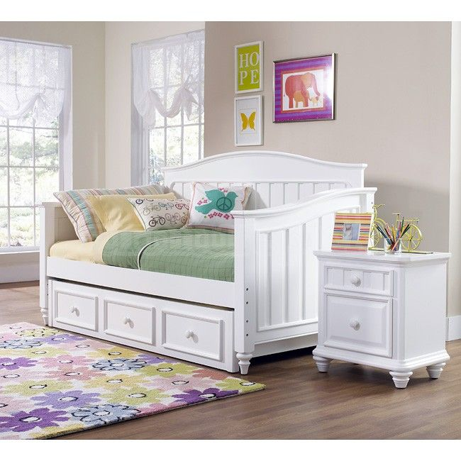 Bedroom Athletics Keira Bedroom Furniture Ideas 2016 Teal Blue Bedroom Ideas Bedroom Ceiling Light Fixtures Ideas: White Daybed Set With Storage Underneath And Nightstand