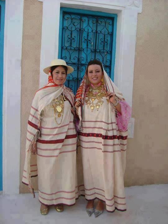 Djerba Tunisia Folk Costumes Of The World Ethnic