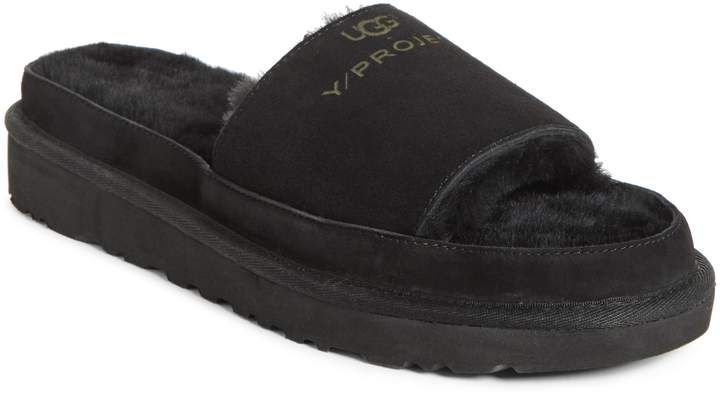 32d6114d474 Y/Project x UGG(R) Genuine Shearling Slide Sandal | Products | Uggs ...