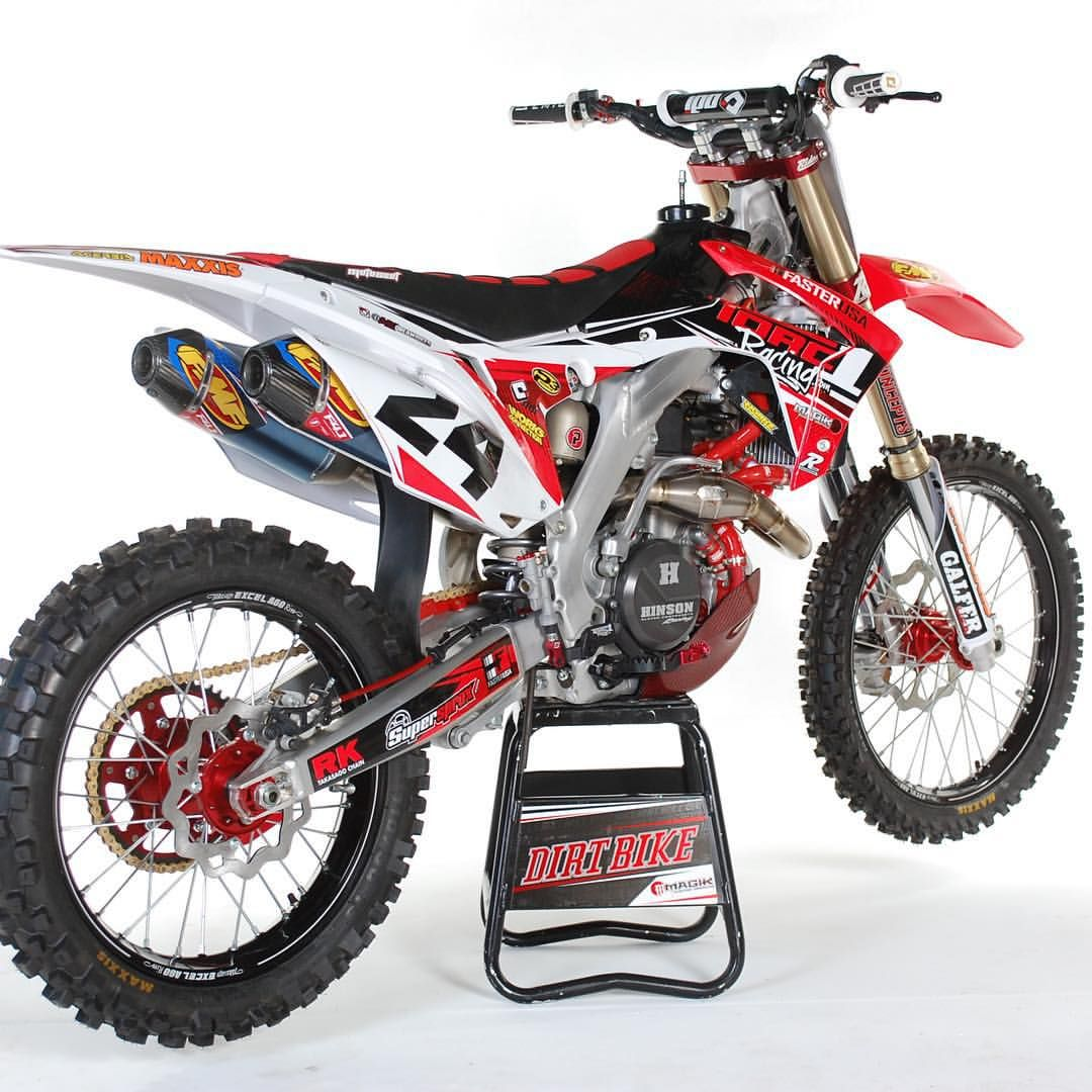 """Boyesen Factory Racing on Instagram: """"How about this final product from the boys at @dirtbikemag !! @mxdreambikes built a beauty! Who wants to ride this into the weekend????? #Boyesen #FactoryRacing #staycool #getcovered"""""""