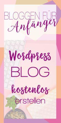 online blog kostenlos