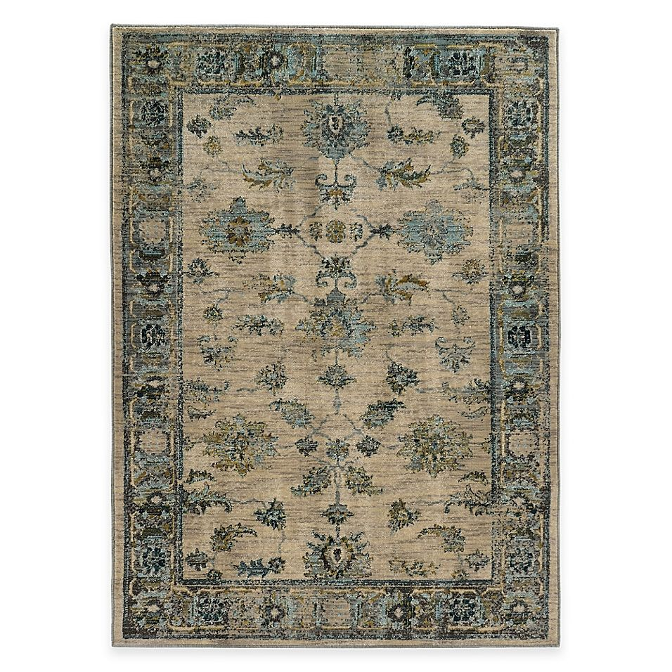 Home Decorators Collection Gianna Indigo 1 Ft 10 In X 7 Ft 6 In Rug Runner 442706 The Home Depot Area Rugs Home Decorators Collection Colorful Rugs